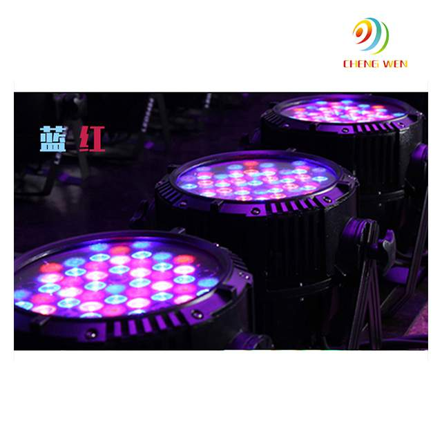 Professional led stage lighting outdoor 36pcs rgb color with magic effects par light