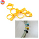 Safety cord lock, cable clips