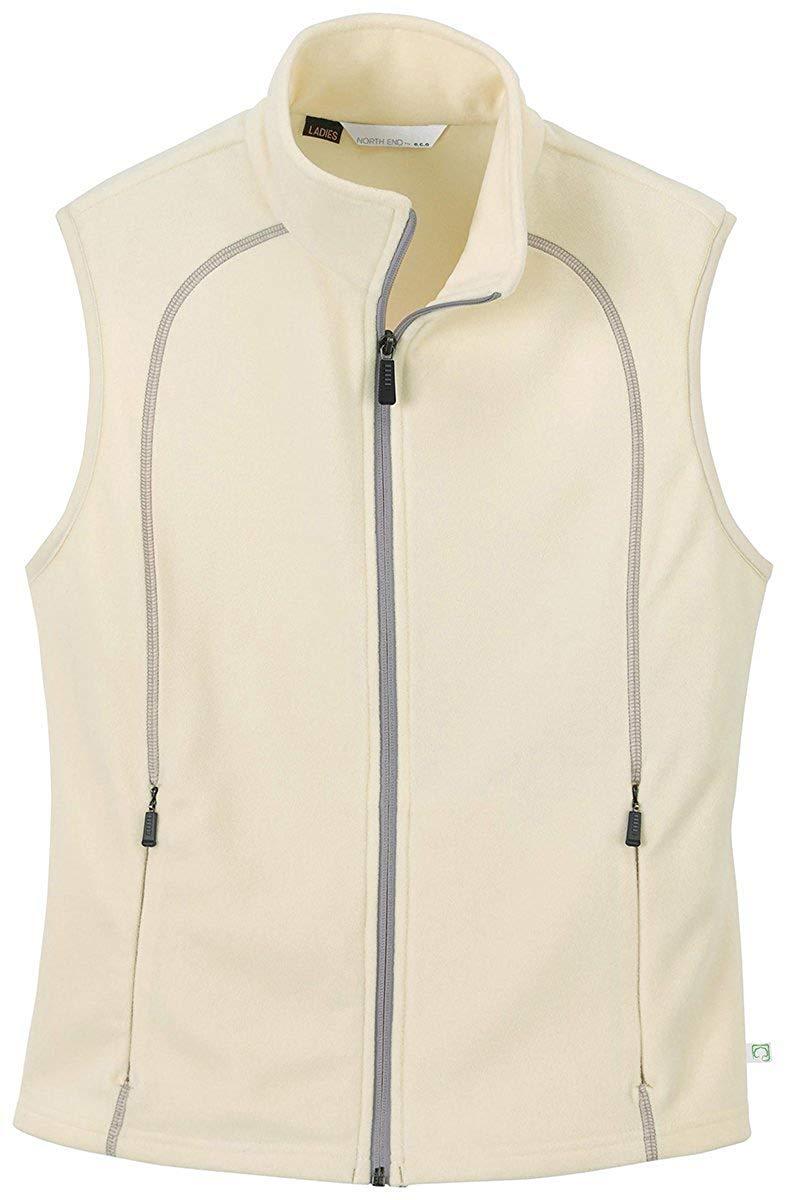 0d392534203 Get Quotations · Ash City North End Womens ECO Friendly Fleece Vest Jacket  Outerwear