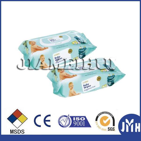 Pocket pack disposable dry baby wipes oem welcomed