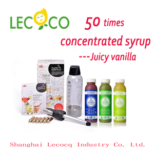 Leco 50 Times Concentrated fruit cocktail Beverage Syrup how to make tonic water