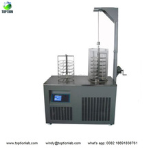 TOPT-30S 0.4M2 drying capacity vacuum freeze dryer for fruit food meat etc