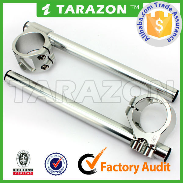 Tarazon CNC Billet Unlockable Handlebar Clip Ons for Kawasaki KZ