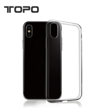 Wholesale New Fit Ultra Slim Thin TPU Transparent Clear shell protector Cover mobile cell Phone Cases For iPhone X 8