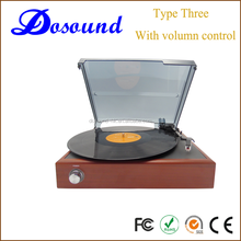 Professional manufacture phonograph wholesale suitcase turntable record player