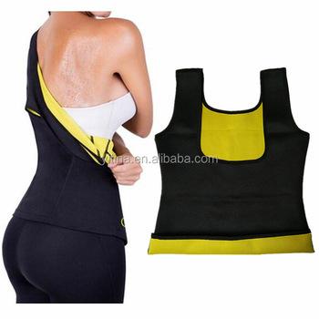 fee78b8d55d90 2017 New hot shapers Abdomen Bodysuit Vest Women Neoprene Shirt Redu Tops  Chest as seen on