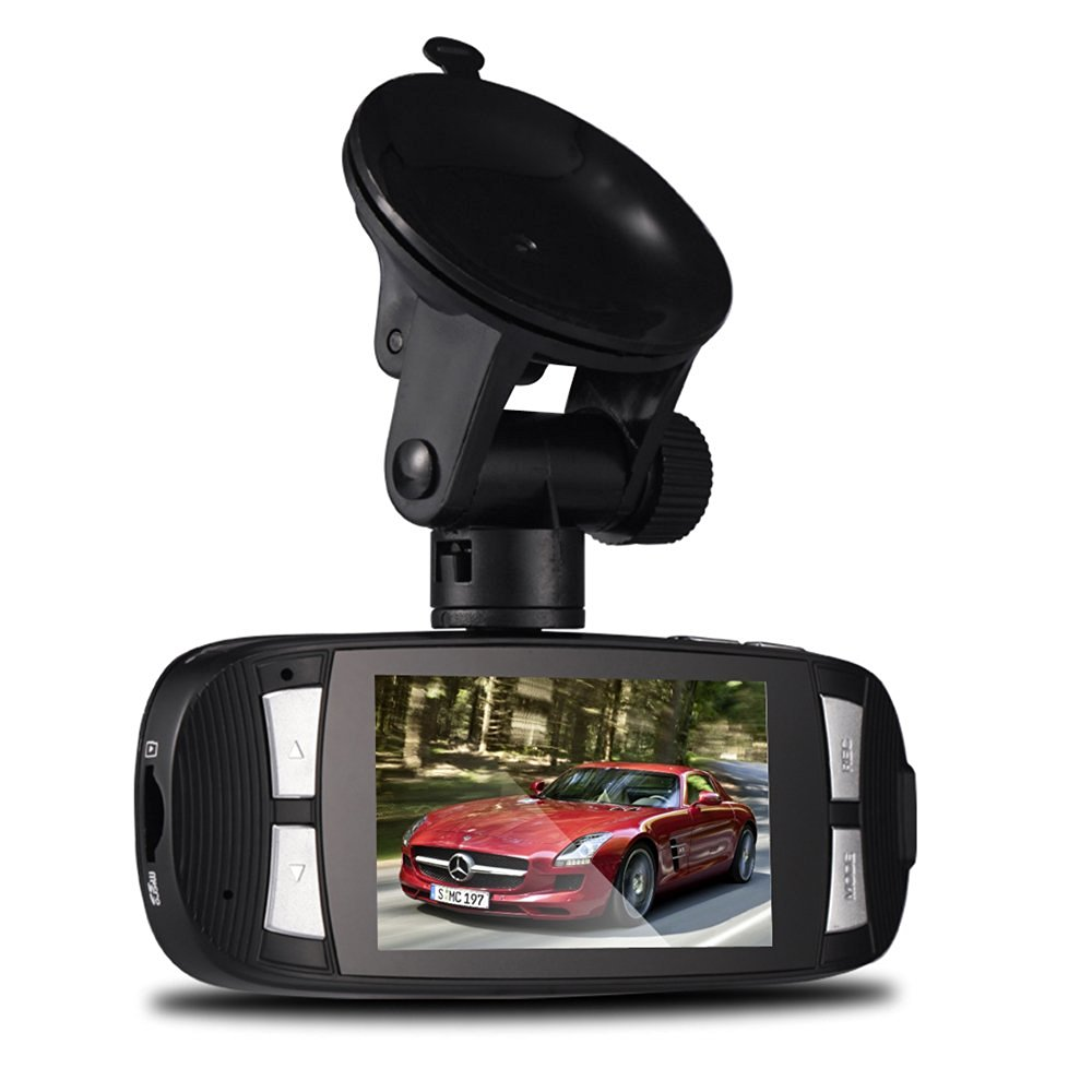 ePathChina 3.0M CMOS H.264 FHD1080P 2.7 Inch LCD Screen Car DVR Recorder with 140 Degree 4 x Digital Zoom Lens Support WDR