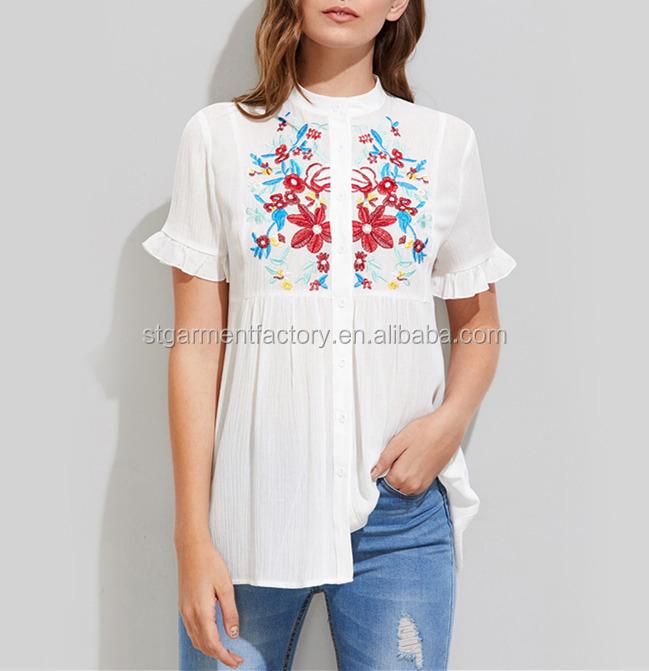 leuke witte blouse