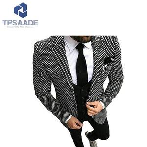 Stylish Men Wedding Slim Fit Blazer Business Suits Custom