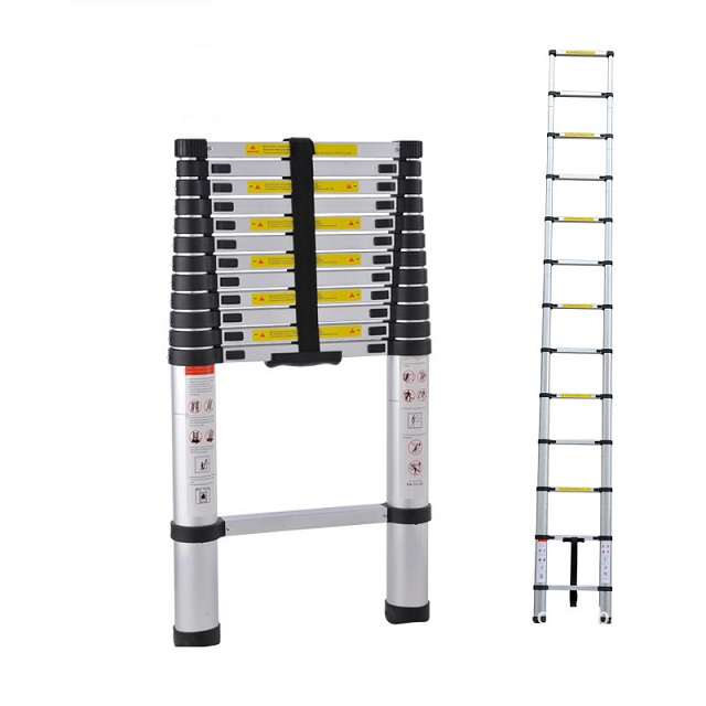 Super Light Telescoping Telescopic Extendable Ladder