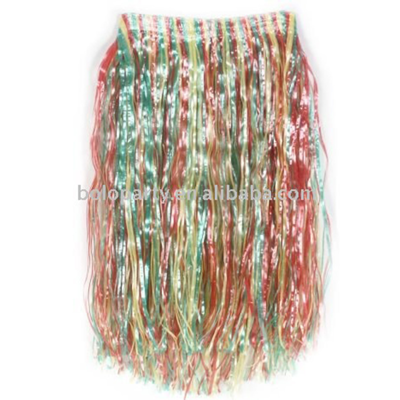 Colorful Hawaii skirt for summer party water party