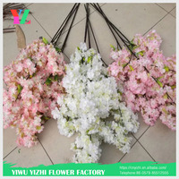 decoration christmas artificial cherry blossom tree artificial branches artificial cherry flower