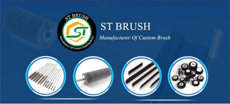 Endüstriyel çelik tel rulo temizleme fırçası