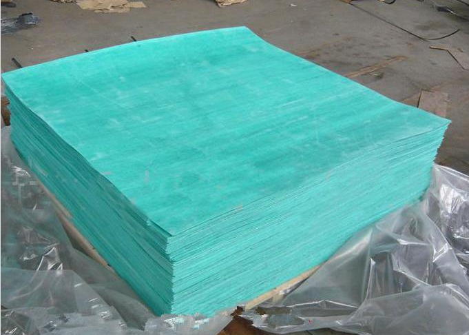 China lead manufactuer wholesale prices 250 oC green color klinger silimar sheet Non asbestos rubber gasket sheet 0.4mm-6mm