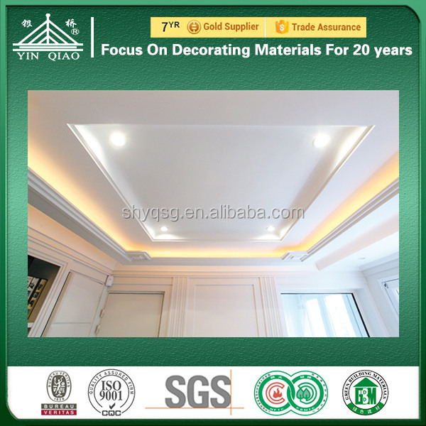 Building Material in Dubai Supplier Home Decoration 3D Gypsum Cornice Molding