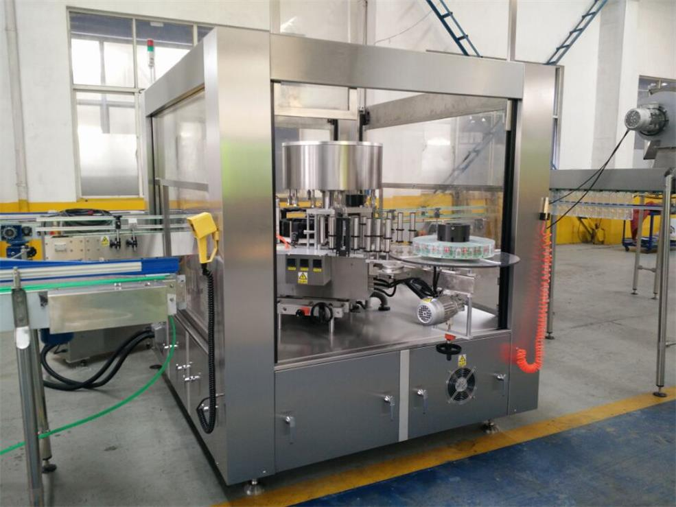 Opp/Bopp Hot Melting Glue Labeling Machine