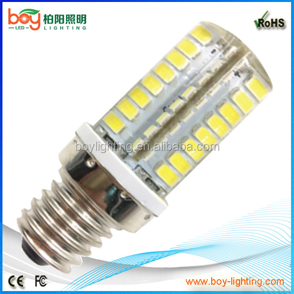 silicon e14 e12 e10 dimmable led bulb,2w 3w 4w e12 led lamp,e14 corn light bulb