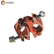 Carbon steel BS 1139 scaffolding double clamp/ coupler for construction