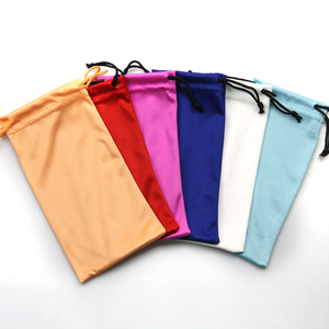 microfiber customized logo glasses pouch