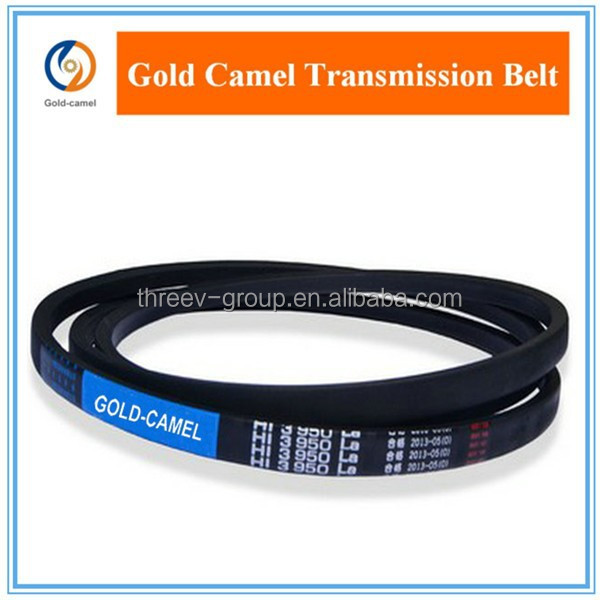 Rubber V belt for farm, lawn, garden, harvest and other agricultural machine