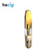 Hecig CBD/THC oil tank Cartridge Ceramic Coil vape pen vaporizer 510 Glass Cartridge Atomizer
