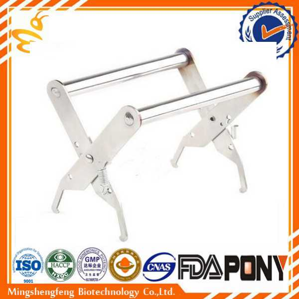 Stainless Steel beekeeping tools / Bee Hive Frame Holder/ honey comb grip/henan suppliers