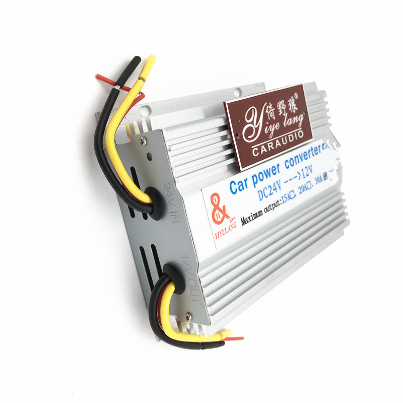High quality 5A 10A 15A 20A 30A buck dc24v to dc12v converter with memory cable