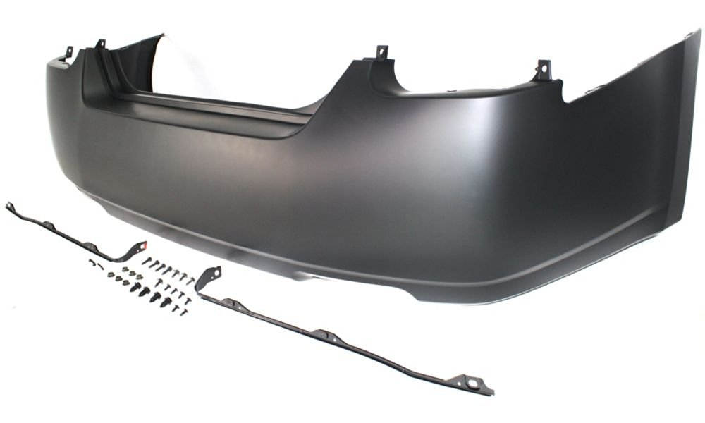 New Evan-Fischer EVA17872030958 Rear BUMPER COVER Primed Direct Fit OE REPLACEMENT for 2004-2006 Nissan Maxima *Replaces Partslink NI1100232