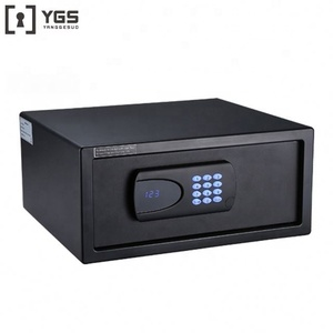 Popular laptop size steel digital security eletronic hotel safe box