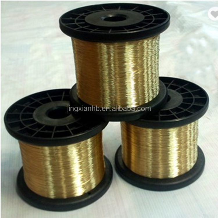 RUBBER HOSE WIRE BRASS COATED RUBBER HOSE REINFORCEMENT WIRE 0.650MM 2000Mpa /MM2 - BRA BP60/ND 11000