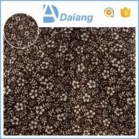factory wholesale 100% small pique print ramie / cotton fabric for sale