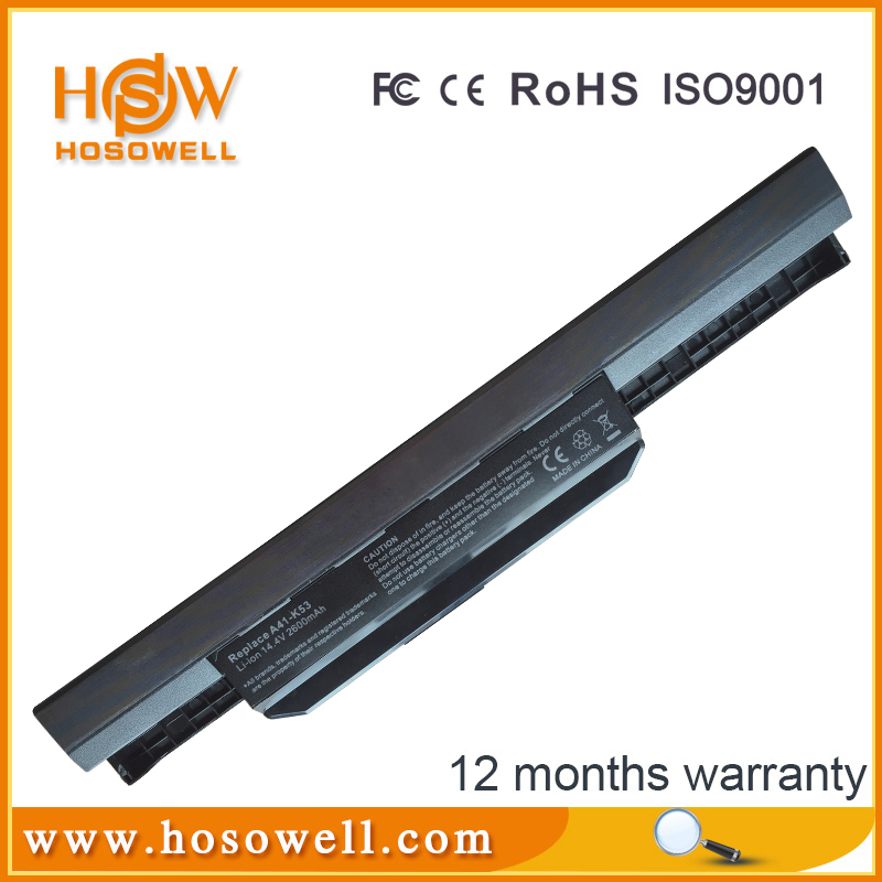 10.8V 2200mAh generic laptop battery A41-K53 A42K53 for ASUS laptop and computers
