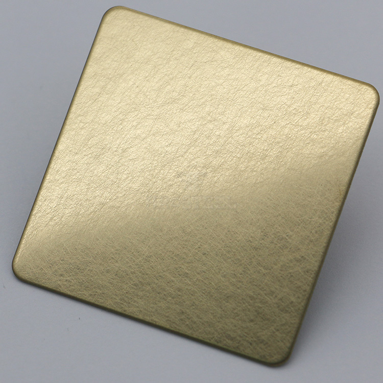Foshan hot sell vibration stainless steel sheet golden pvc metal sheet for wall decor