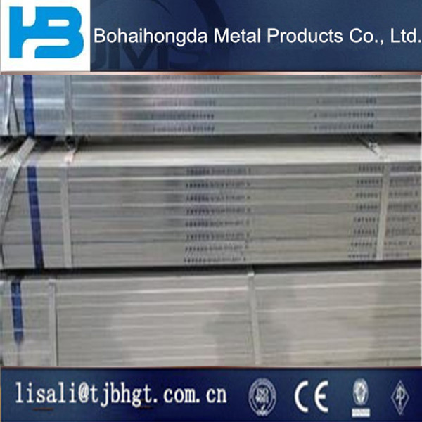 bulk shipment GALVANIZED STEEL SQUARE PIPE testing report