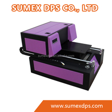 UV flabed Printer, A4 Size, for plain plastic, metal, leather, crystal, wood, mobile case and other materials