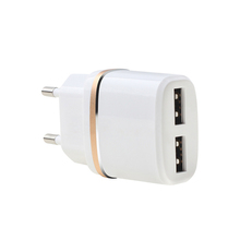 Daya pengisian adapter output 5 v 2.1a <span class=keywords><strong>port</strong></span> usb 2100ma usb wall charger