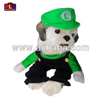 Cheap Unique And Quality Super Mario Luigi Dog Costume Apparel