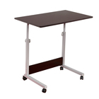 Office Home Movable Height Adjustable Computer Table Stand Laptop Notebook Desk Table Stand Holder Swivel Wheel For Sofa Bed
