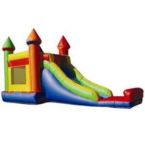 Custom PVC Oxford cloth inflatable Bouncer Castle slide Commercial-grade bounce house