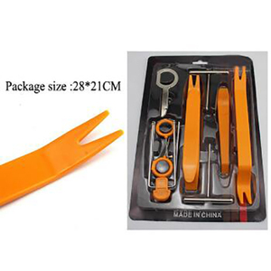 12 pcs Auto Trim Removal Tool Kits Door Clip Panel for Car Dash Radio Audio Installer Pry Tool