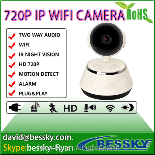 HD 1.0MP wireless wifi camera security home ip p2p yoosee home camera 720