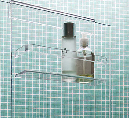 Shower Screen Acrylic Bathroom Shower Caddy - Buy Hanging Bathroom ...