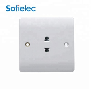 12 Years Warranty 10A Rated Current 2 Pin Socket
