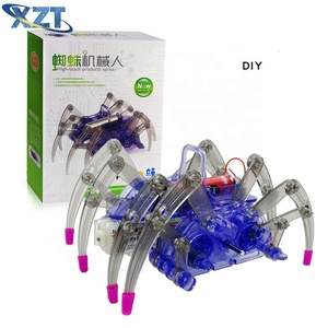 Lowest Price with High Quality Education Toy DIY Spider Robot Kit