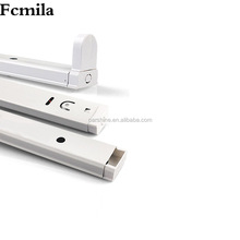 Factory direct sales of new LED fluorescent tube bracket T8 separate iron bracket one of the middle of white spray