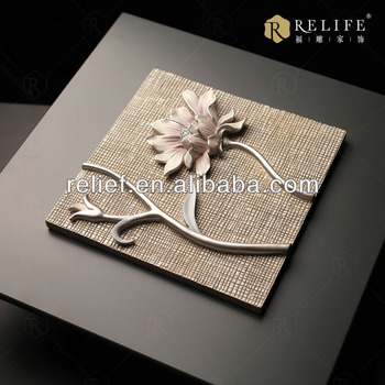 Homeware Wall Art Handmade 3d Relief Painting For Modern All About ...