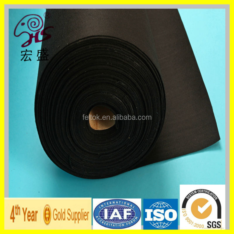 true factory supply industrial Fireproof polyester felt with Fireproof material