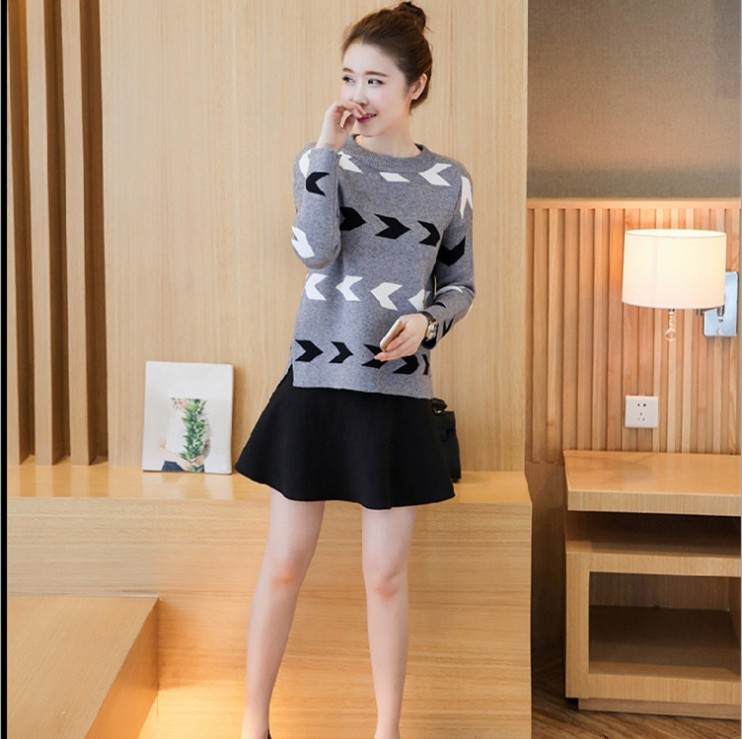 zm21735a 2016 autumn winter women fashion pullover sweaters Korean style lady fancy clothes