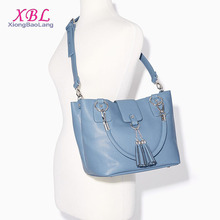 XBL shoulder bag 2017 New model baby blue women cross body bags handbag