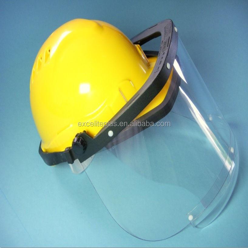 सुरक्षा हेलमेट टोपी का छज्जा, सुरक्षा हेलमेट, छज्जा के साथ सुरक्षा हेलमेट